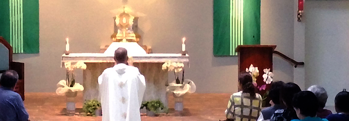 <b>Adoration of the Blessed Sacrament</b>