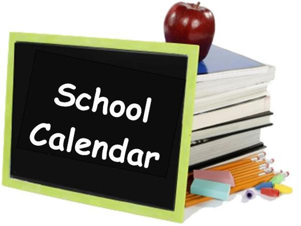 CCSS School Calendars - Sharp Creek Elementary